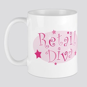 """""""Retail Diva"""" [pink] Mug"""
